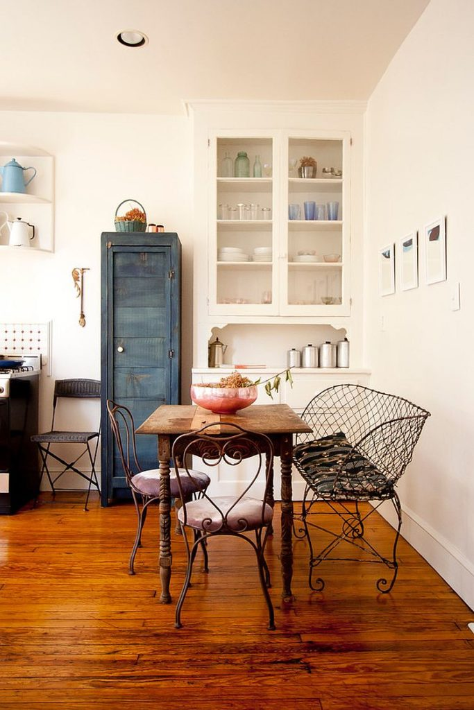 Shabby Chic Dining Room Ideas with Reclaimed Decor and Fabulous Furniture