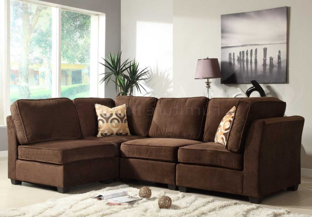 Astonishing Microfiber Modular Sectional Sofa Design Ideas