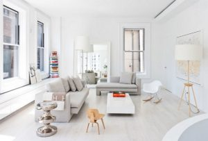 25 Elegant Monochromatic Living Room Colors in White Ideas