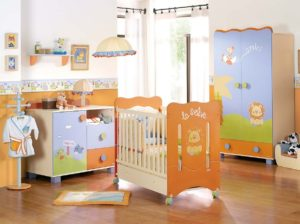 20 Modern Orange Nursery Decorating Ideas